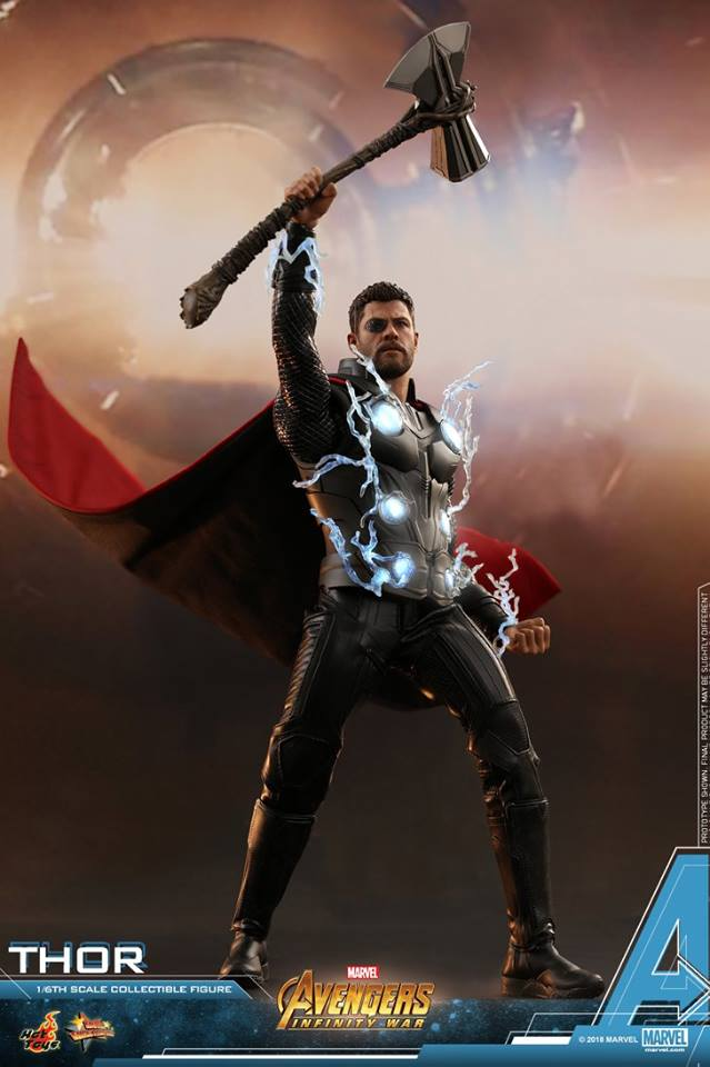[Hot Toys] -Avengers: Infinity War -Thor 1/6 28472210