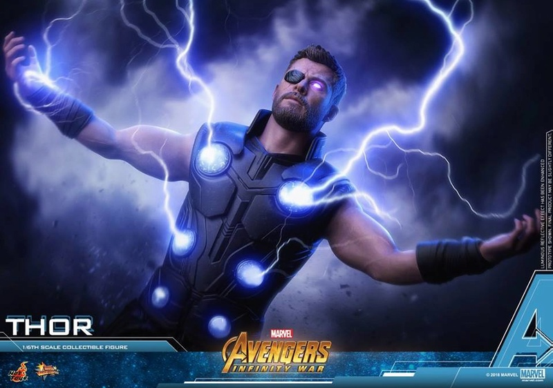 [Hot Toys] -Avengers: Infinity War -Thor 1/6 28576012