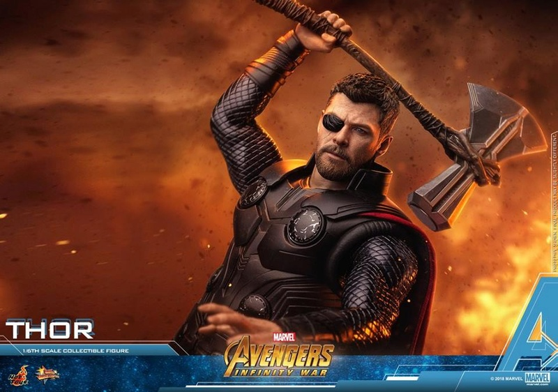 [Hot Toys] -Avengers: Infinity War -Thor 1/6 28576311