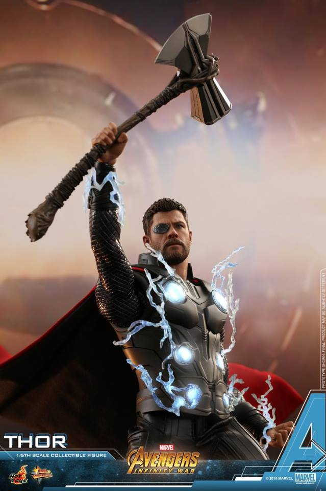 [Hot Toys] -Avengers: Infinity War -Thor 1/6 28576710