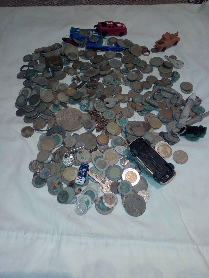 Ahora si salieron monedas Playa311