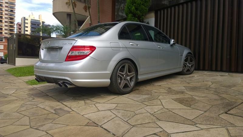 Vende-se W204 C63AMG - 2009 - R$ 134.000,00 Whatsa13