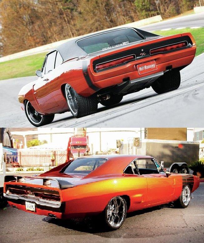 "1970 Charger ""custom"" (Terminé) 17242610"