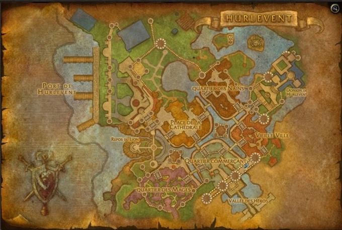 Carte de la cité. Hurlev14