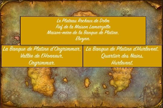 Présentation de la Banque de Platine.  Map1010