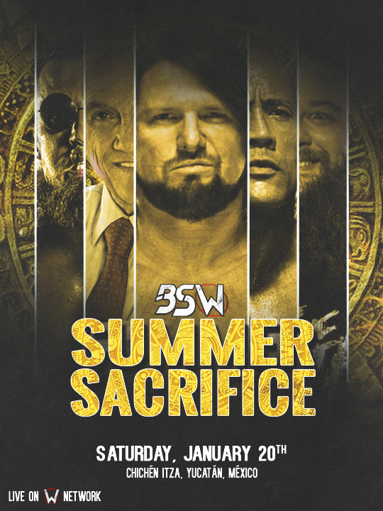BSW Summer Sacrifice '18 Poster12