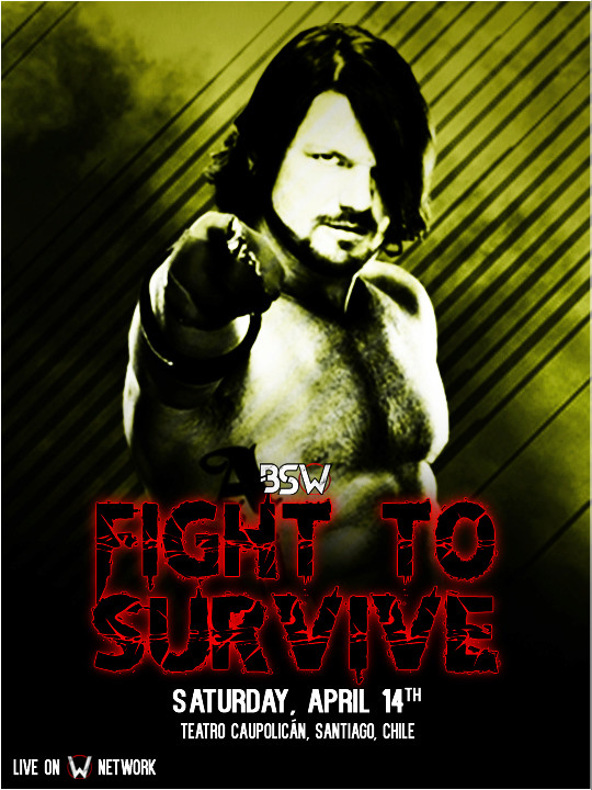 Fight to Survive '18 Poster15