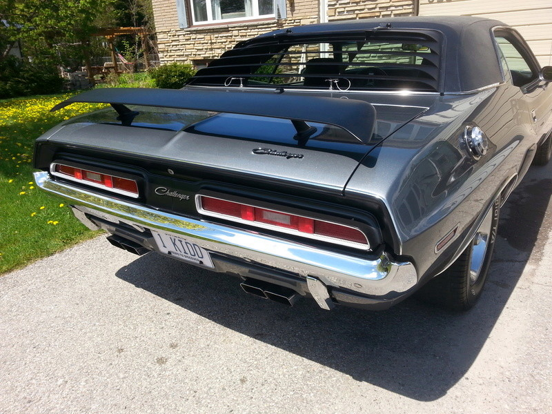 1971 Challenger  R/T clone with shaker for sale 20160511