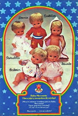 MUÑECO BABY MOCOSETE Baby-m10