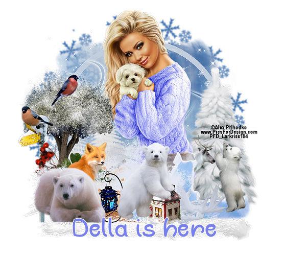 Della`s Gift Basket  Ellies10