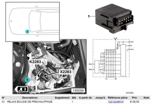 [ BMW E46 330d M57 an 1999 ] Localisation boitier démarrage (résolu) 14676410