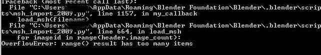 Error al importar cabeza al Blender Blende12