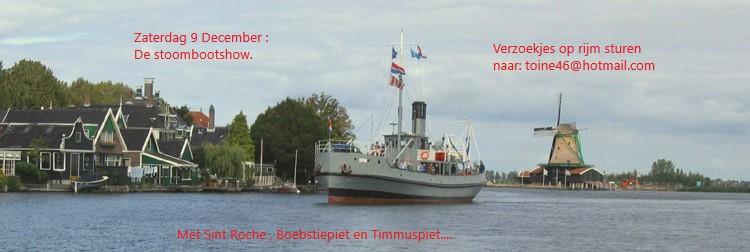 De Stoombootshow Zat. 9 dec. Stoomb11