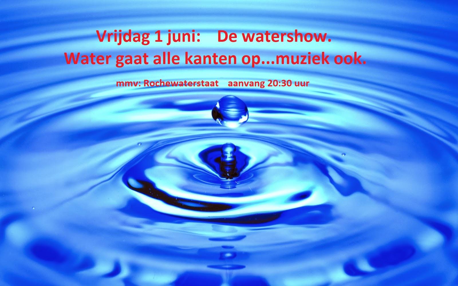 Vrijdag 1 juni : De watershow  20:30 uur Waters10