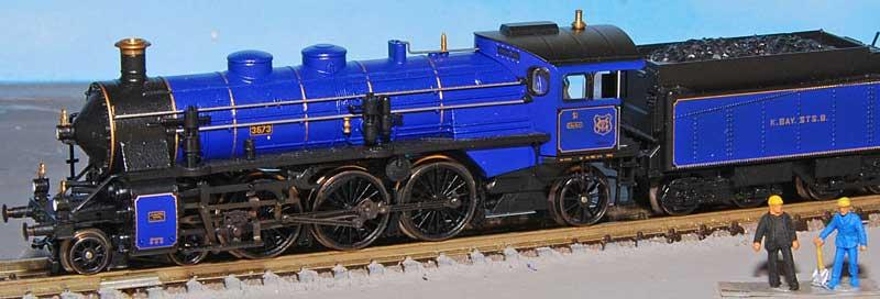 Revell 02168 - Baureihe 18.5 mit Langlauftender 1/87 - Fertig D367310