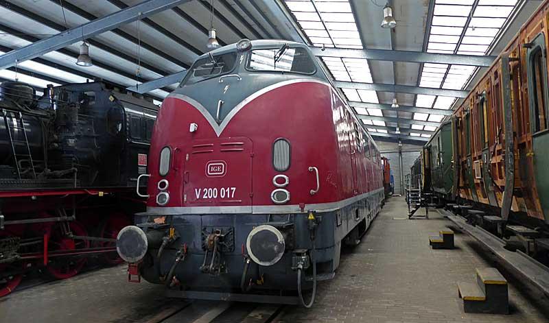 Meine Besuche im Eisenbahnmuseum Bochum-Dahlhausen - Sammelbeitrag Dahl0221