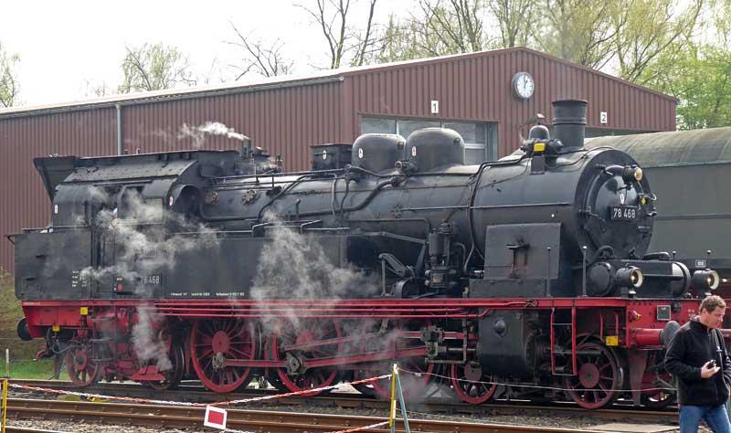 Meine Besuche im Eisenbahnmuseum Bochum-Dahlhausen - Sammelbeitrag Dahl0812