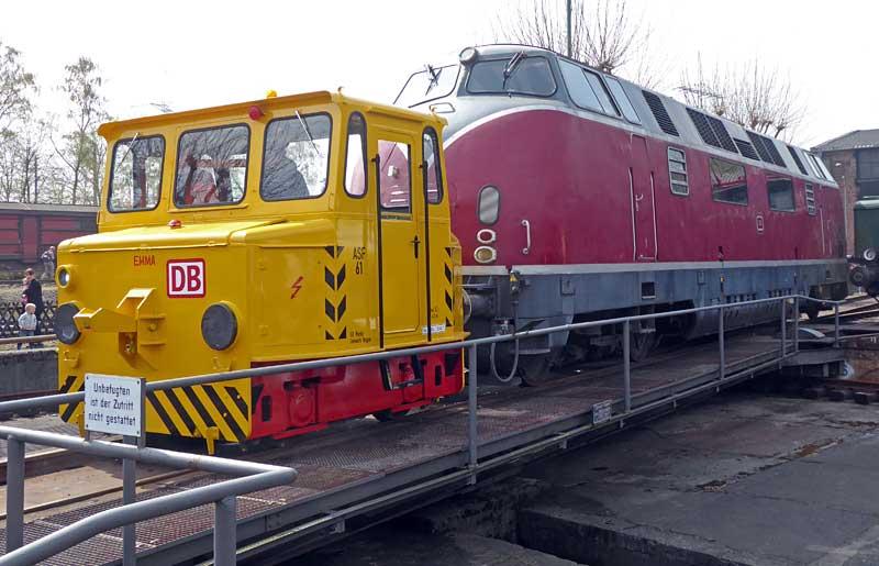 Meine Besuche im Eisenbahnmuseum Bochum-Dahlhausen - Sammelbeitrag Dahl0813