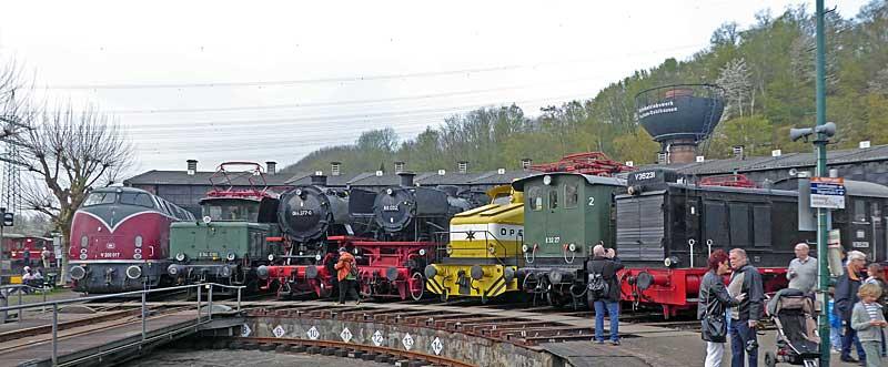 Meine Besuche im Eisenbahnmuseum Bochum-Dahlhausen - Sammelbeitrag Dahl0814
