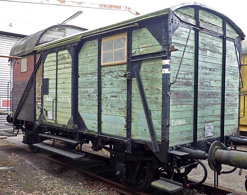 Baubericht Preuss. Güterzuggepäckwagen MusterblattIIa13, M1:16 Gpwage11