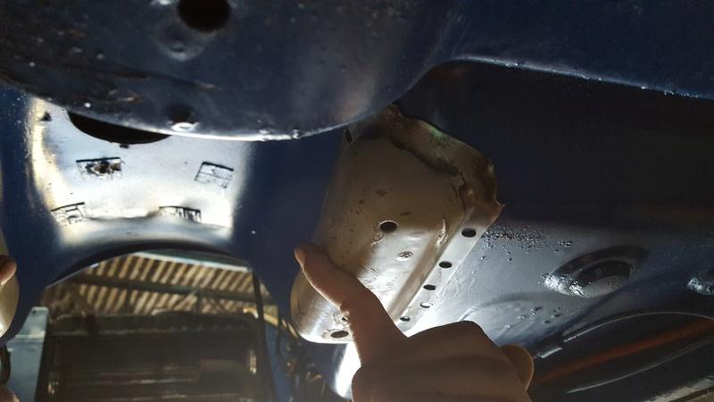 Instalação de Cambio CL 2205B em Opala 74 20180213