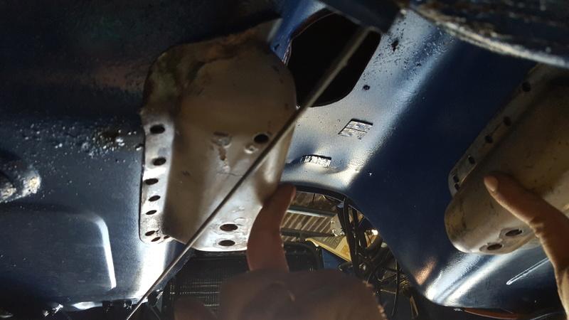 Instalação de Cambio CL 2205B em Opala 74 20180215