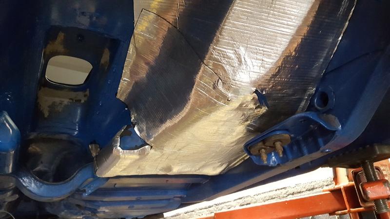 Instalação de Cambio CL 2205B em Opala 74 20180337