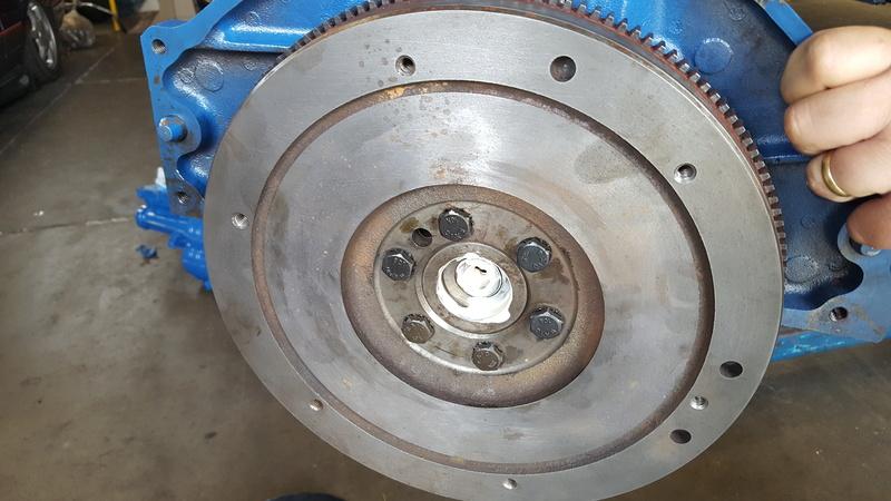 Instalação de Cambio CL 2205B em Opala 74 20180346