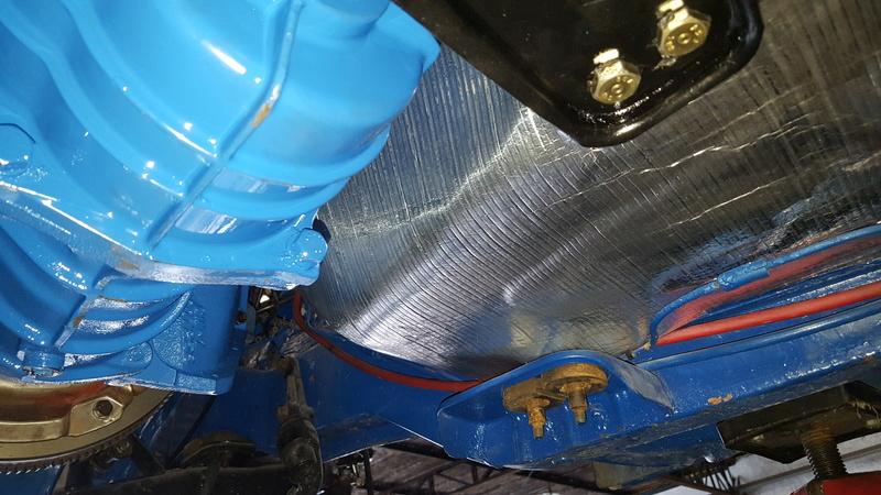 Instalação de Cambio CL 2205B em Opala 74 20180357