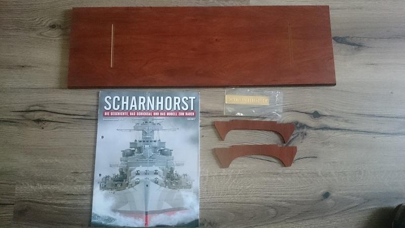 DKM Scharnhorst 1:200 Hachette gebaut von Brandti - Seite 2 Scharn16
