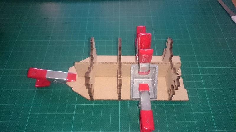 DKM Scharnhorst 1:200 Hachette gebaut von Brandti - Seite 2 Scharn34