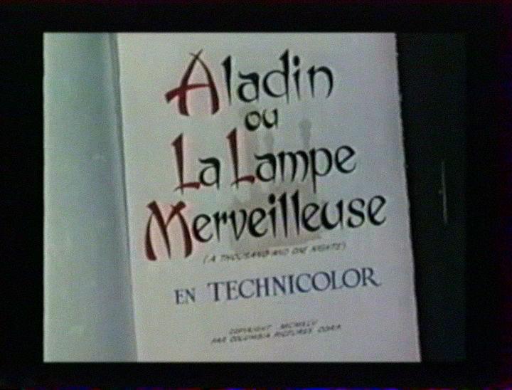 Aladin et La Lampe Merveilleuse (1945) 1945_a14