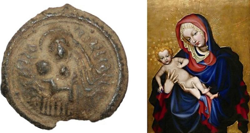 Virgen con Niño / Santa Faz, (catedral de S. Vito-Praga) (R.M. SXVI-C18) (MAM) Dsc_0215