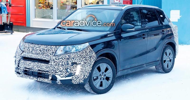 LATEST 2018/19 VITARA SPY SHOTS Suzuki10