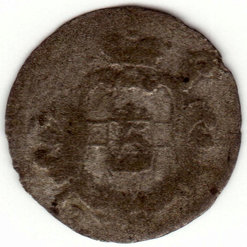Estado alemán. 1/2 Petermenger de vellón de 1747. Ceca de Trier Cara10