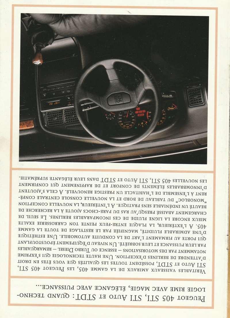 Brochure d'époque gamme 405 (1994) Brochu17