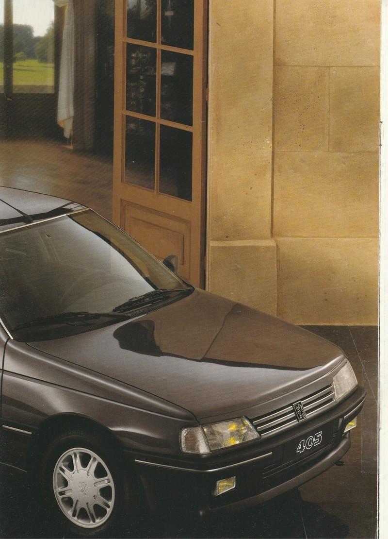 Brochure d'époque gamme 405 (1994) Brochu18