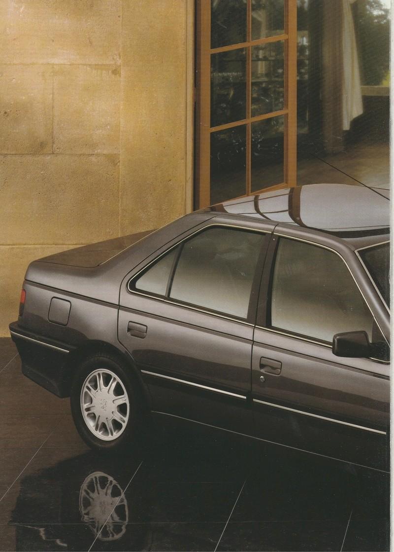 Brochure d'époque gamme 405 (1994) Brochu19