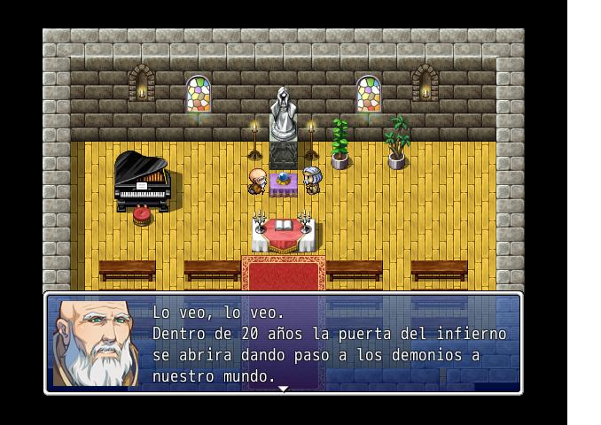 [RPG Maker ] Las armas inferno (demo) Captur11