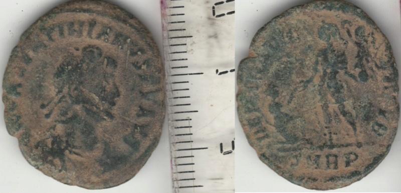 AE2 o Maiorina de Valentiniano II. REPARATIO REIPVB. Roma Consta10