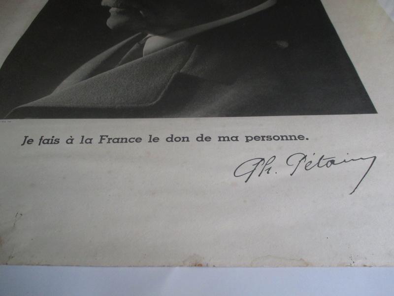 Cadre Philippe Petain Img_0851