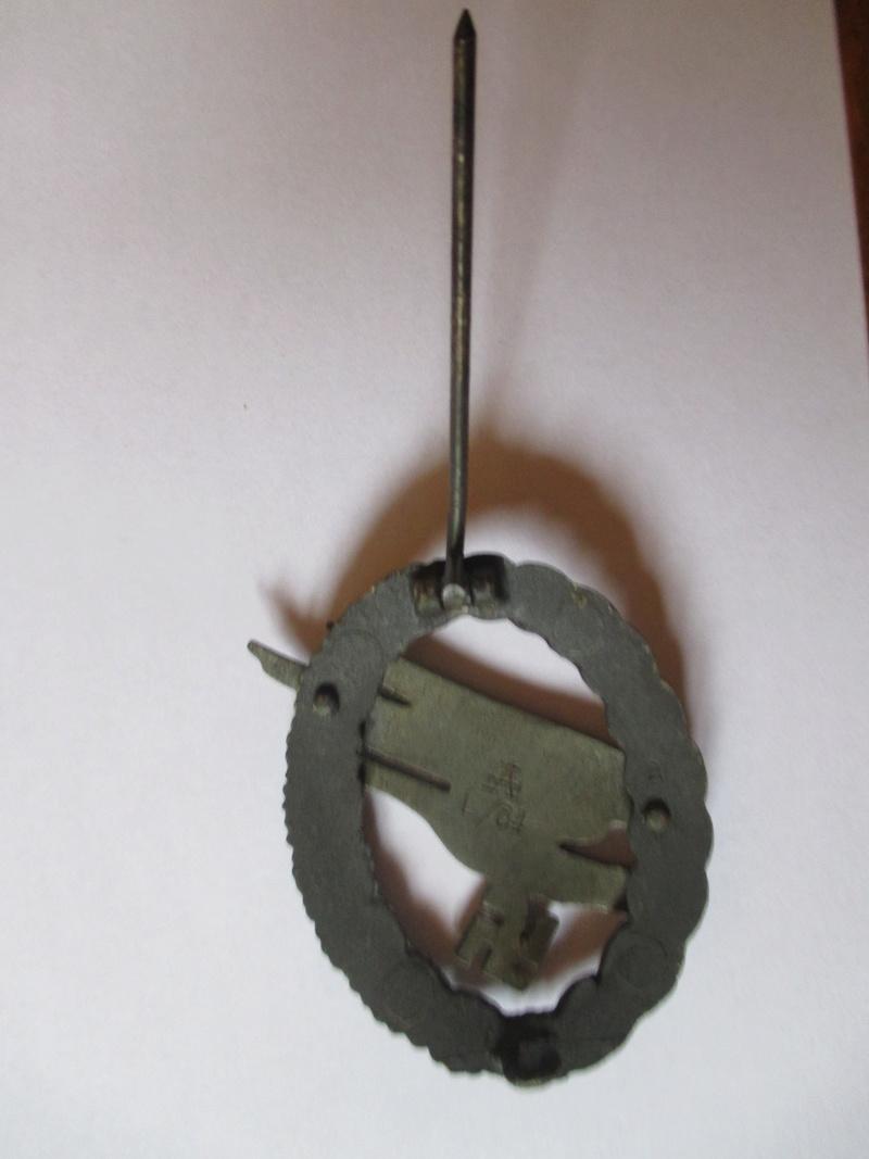 Authentification et estimation insigne parachutiste Luftwaffe Img_1244