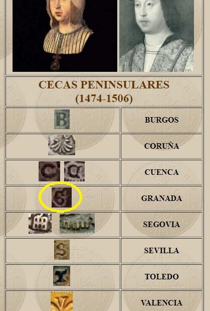 4 Maravedis a nombre de los RR.CC. ceca Cuenca Ceca_g10