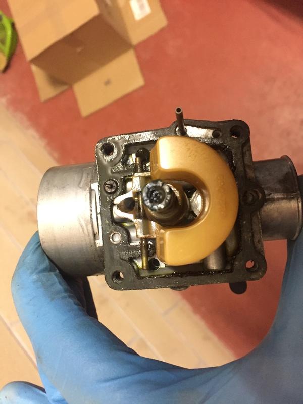 Carburador Amal 2625 ..... 25 años después  732d1f10