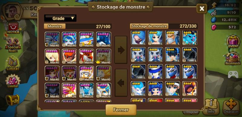Update du compte v2 Summon11