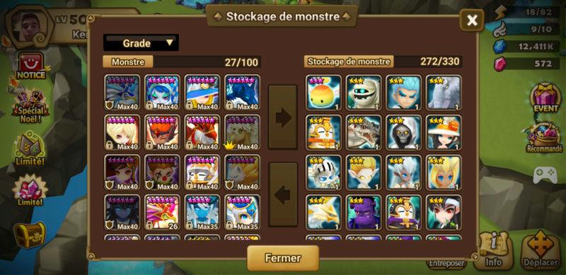 Update du compte v2 Summon13