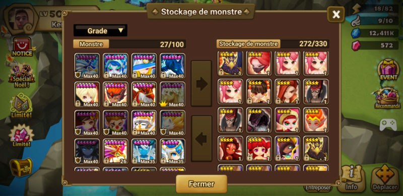 Update du compte v2 Summon15