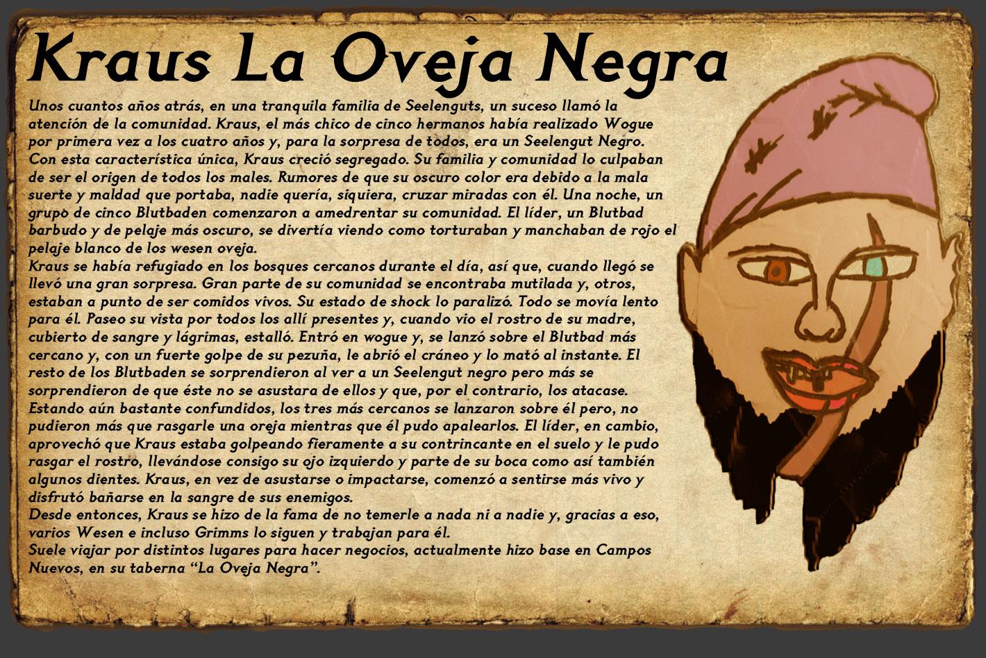 NPC: Kraus, La Oveja Negra Kraus10