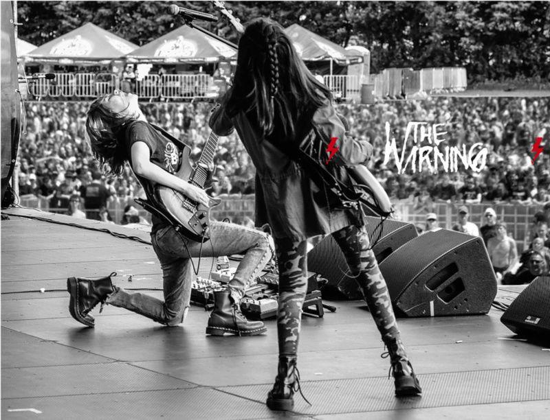 """The Warning - """"EVOLVE"""" 2º single TW3, estreno 23 de julio - Rock clásico desde México - Página 7 Thewar10"""
