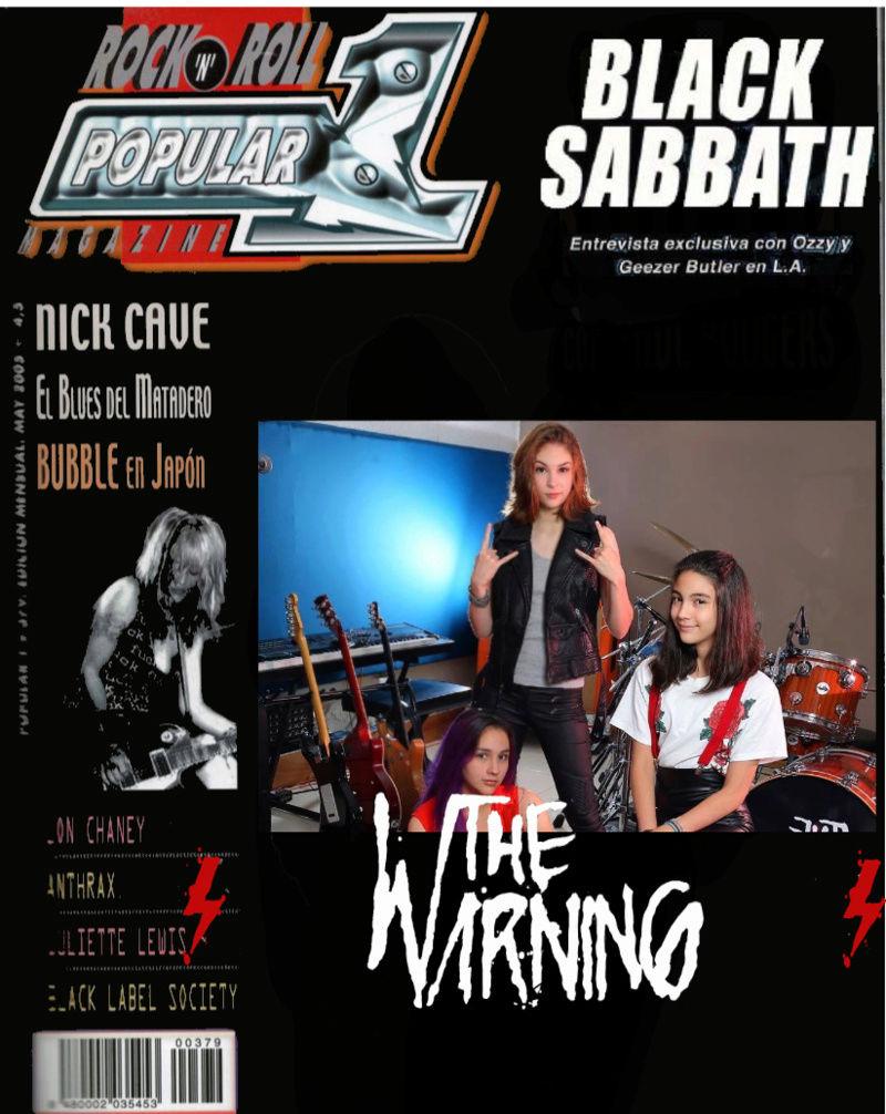 """The Warning - """"EVOLVE"""" 2º single TW3, estreno 23 de julio - Rock clásico desde México - Página 7 Twpopo10"""